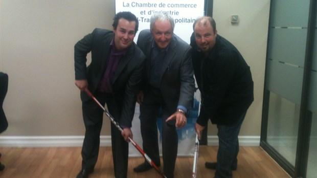 Un premier tournoi de hockey pour entreprises sorel for Chambre de commerce sorel tracy